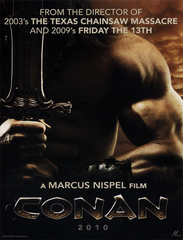 Conan promo movie poster AFM 2009.jpg