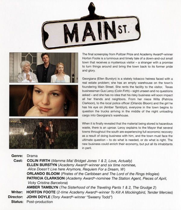 Main St. promo movie poster AFM 2009 1.jpg