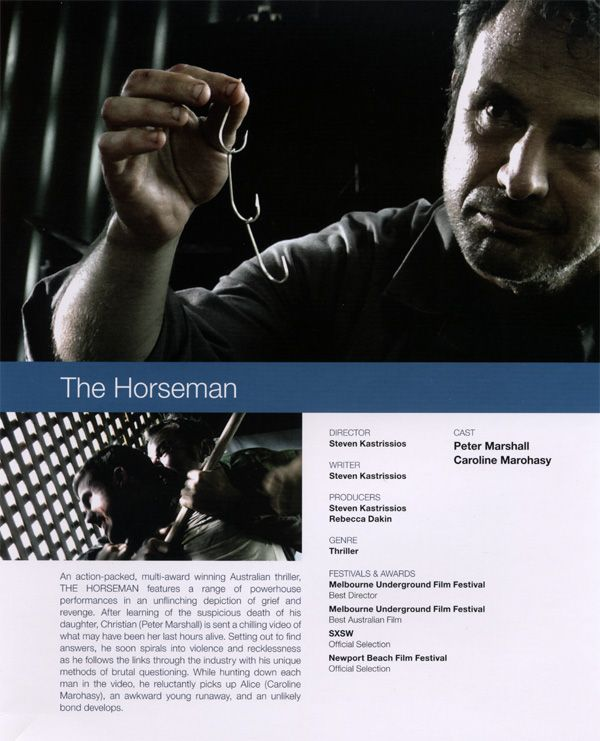 The Horseman promo movie poster AFM 2009 1.jpg