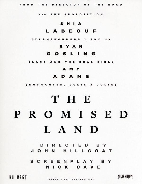 The Promised Land promo movie poster AFM 2009.jpg