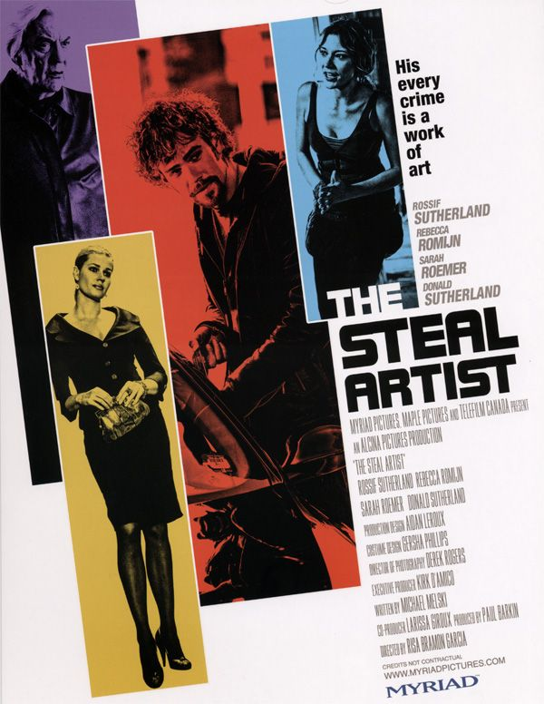 The Steal Artist promo movie poster AFM 2009.jpg