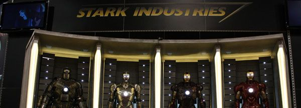 Comic-Con 2009 floor image Stark Industries Iron Man 2.jpg