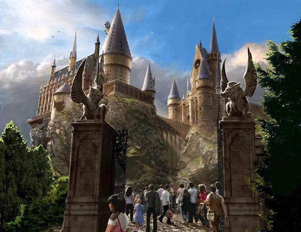 Hogwarts Exterior The Wizarding World of Harry Potter at Universal Orlando Resort.jpg