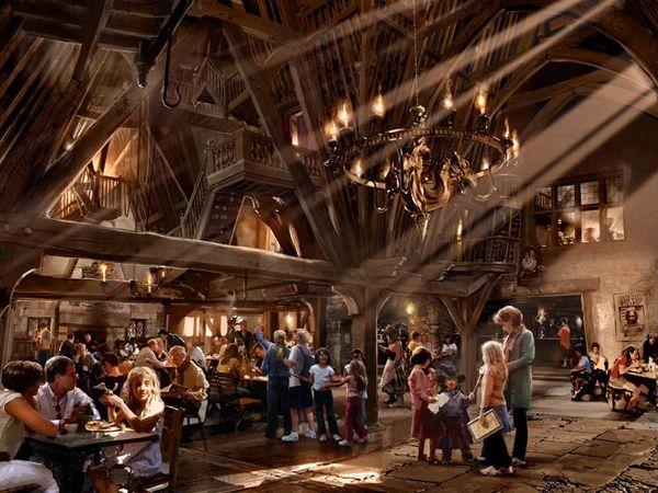 Parque Temático de Harry Potter. Universal Orlando. Imágen