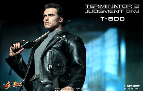 arnold schwarzenegger terminator 2. T800 from the Terminator 2 Hot