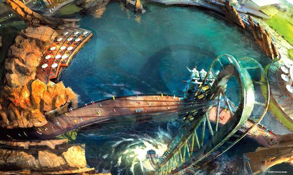 concept art from marvel s super heroes theme park in dubai