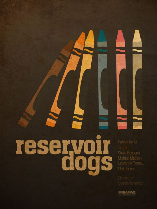 Minimalist Posters for the Films of Quentin Tarantino ...