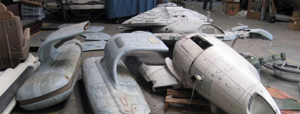 Star Trek The Experience Warehouse Sale Propworx Slice