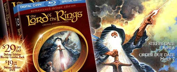 The Lord of the Rings animated film DVD and Blu-ray.jpg
