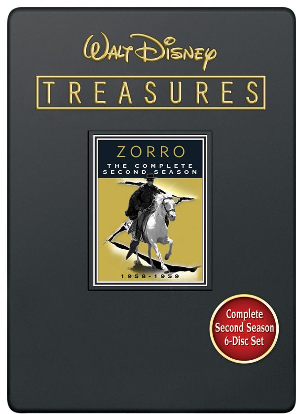 Walt Disney Treasures Zorro The Complete Second Season DVD.jpg