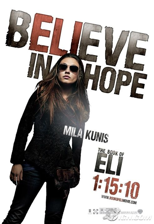 Even More Posters: THE BOOK OF ELI and SEX AND THE CITY 2 ...
