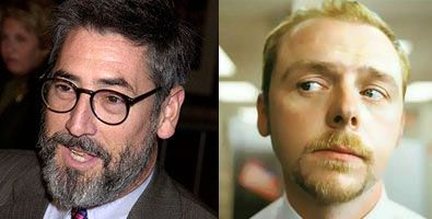 Simon Pegg and John Landis BURKE AND HARE movie.jpg