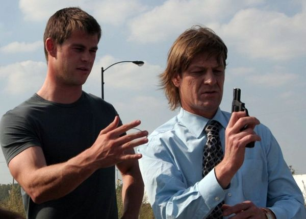 CA$H movie image Chris Hemsworth and Sean Bean (2).jpg