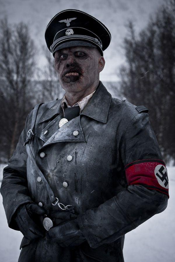 Nazi dead zombies snow