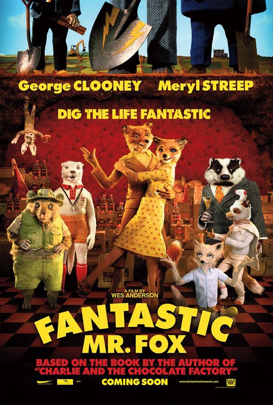 Movie Review : The Fantastic Mr Fox