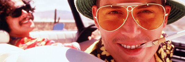 a review of the film fear and loathing in las vegas 20th anniversary raoul duke (johnny depp) and his attorney dr gonzo ( benicio del toro) drive a red convertible across the mojave desert to las vegas  with.
