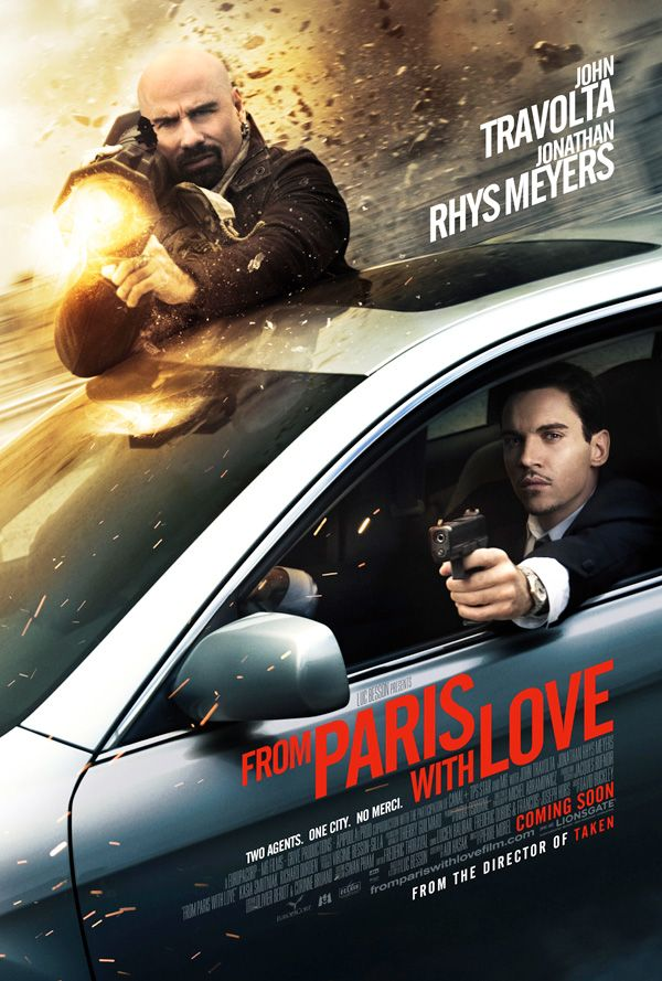 3 Movie Clips FROM PARIS WITH LOVE Starring Jonathan Rhys ...