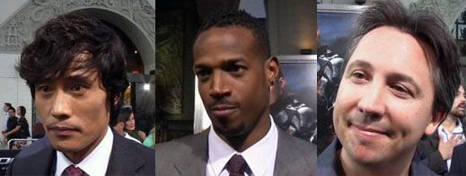Byung-hun Lee (Storm Shadow), Screenwriter Stuart Beattie, and Marlon Wayans.jpg