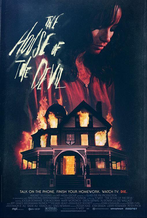 حصريا فيلم الرعب الدموى للكبار فقط The House of the Devil 2009 Dvdrip 180 MB Rmvb Translated مترجم