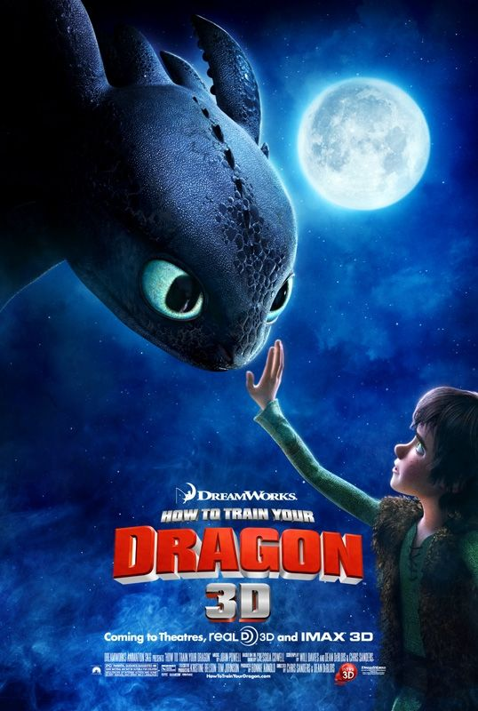 Hit the jump to check out the poster. How to Train Your Dragon hits theaters
