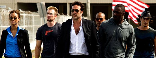The Losers movie image Jeffrey Dean Morgan, Chris Evans, Jason Patric, oscar Jaenada, Idris Elba, Zoe Saldana and Columbus Short slice.jpg