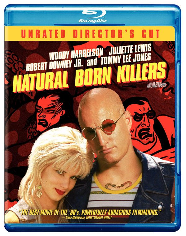Natural Born Killers Unrated Directors Cut Blu Ray Review