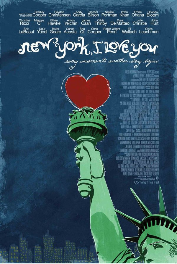 New York I Love You movie poster.jpg Here's the synopsis, cast and directors