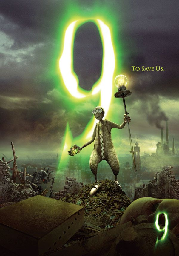 9 Movie Presentation At Comic Con Featuring Shane Acker Tim Burton