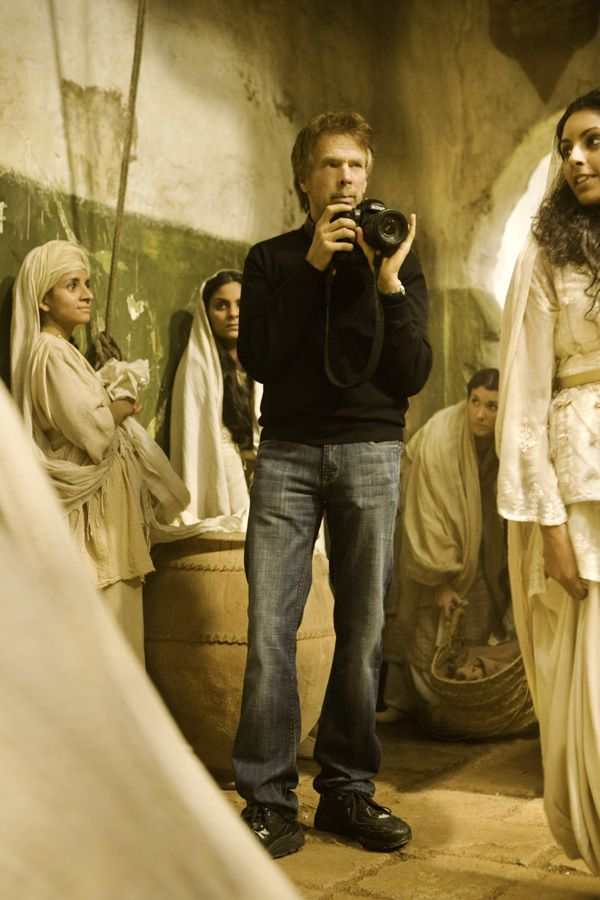 Jerry Bruckheimer on the set of Prince of Persia The Sands of Time.jpg