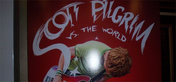 Scott Pilgrim vs The World movie poster movie theater standee slice.jpg