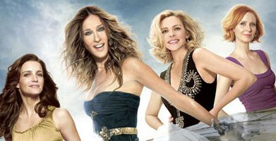 Sex and the City 2 movie poster Sarah Jessica Parker, Kim Cattrall, Kristin Davis, and Cynthia Nixon slice.jpg