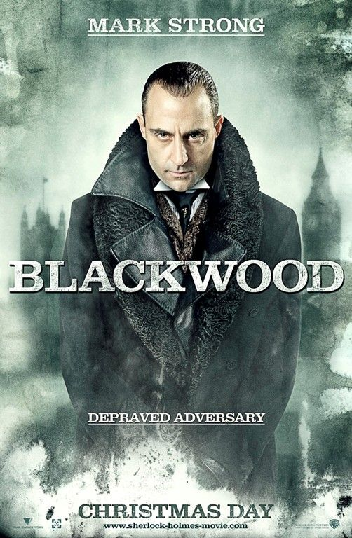 Mark Strong as Blackwood - Sherlock Holmes movie poster.jpg