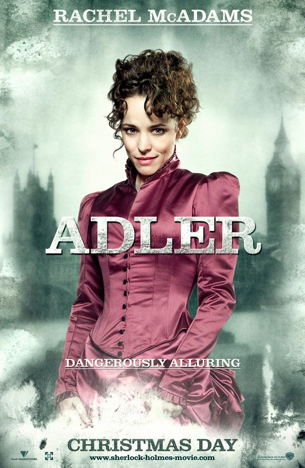 Sherlock Holmes movie poster Rachel McAdams as Adler.jpg