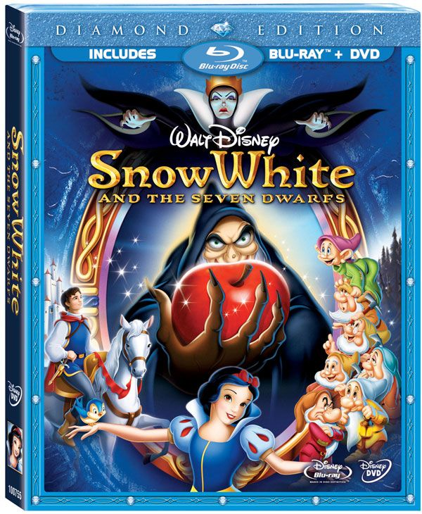 Snow White And The Seven Dwarfs Blu Ray Jpg