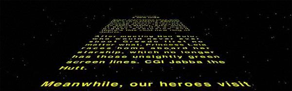 College Humor Creates a New Opening Crawl for STAR WARS | Collider