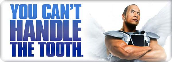 Dwayne Johnson and Julie Andrews Interview TOOTH FAIRY ...