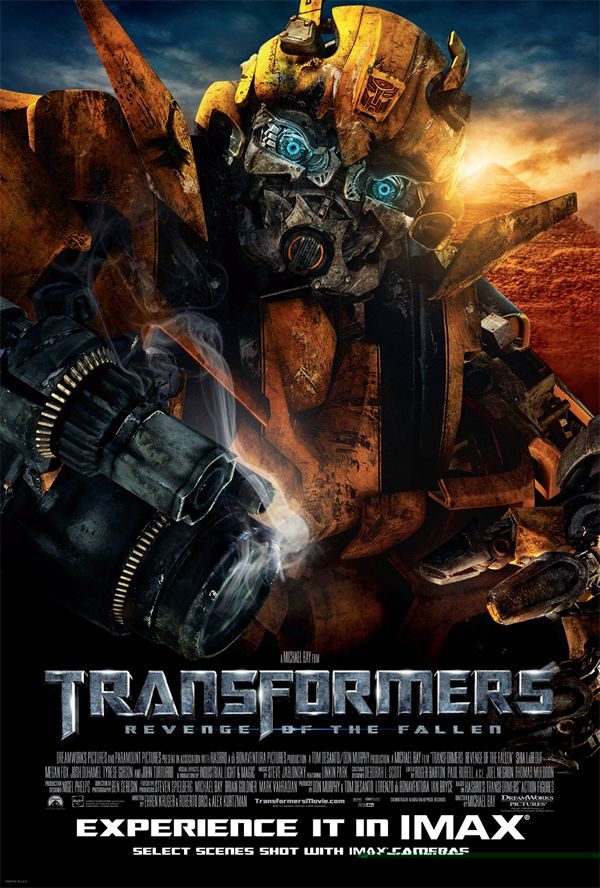 IMAX Poster for TRANSFORMERS: REVENGE OF THE FALLEN ...