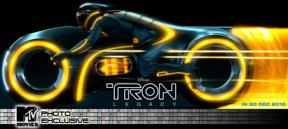 Tron Legacy movie poster yellow lightcycle.jpg