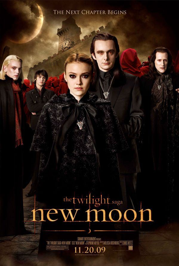 3 new the twilight saga new moon character posters the