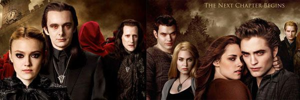 3 New THE TWILIGHT SAGA: NEW MOON Character Posters - The