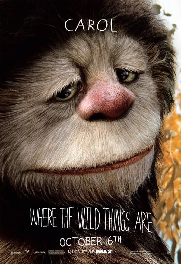 Where the Wild Things Are character movie poster Carol.jpg