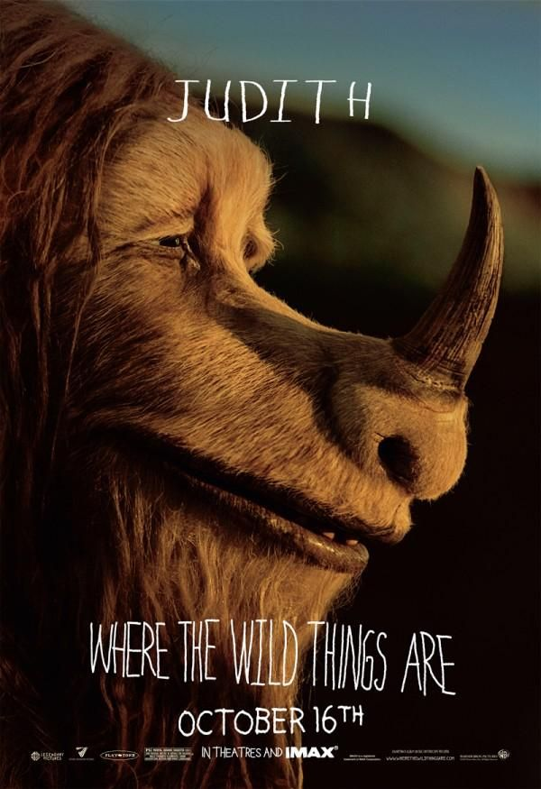 Where the Wild Things Are character movie poster Judith.jpg