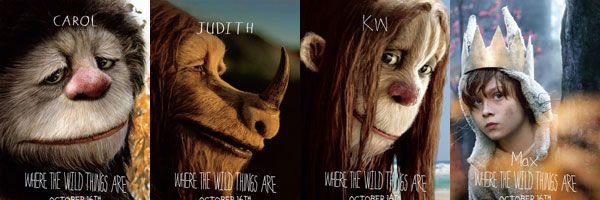 slice - Where the Wild Things Are character movie posters.jpg