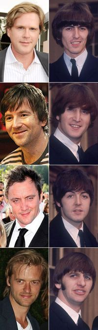 Cary Elwes, Dean Lennox Kelly, Peter Serafinowicz and Adam Campbell Yellow Submarine.jpg