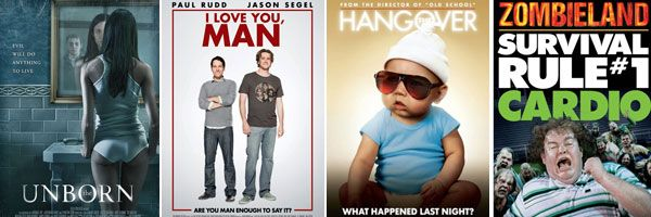 The Unborn, I Love You Man, The Hangover and Zombieland slice.jpg