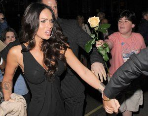Megan Fox and the Kid with the Flower - Megan Fox rejects kid.jpg