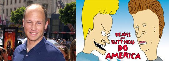 Mike Judge and Beavis and Butthead.jpg