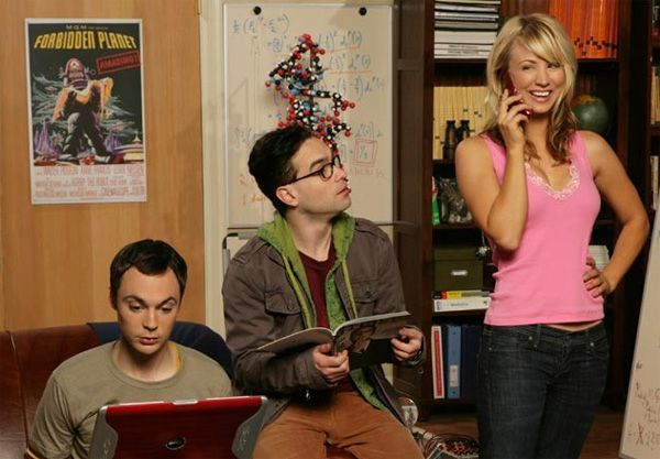 and because The Big Bang Theory relishes in its nerddom it is easily
