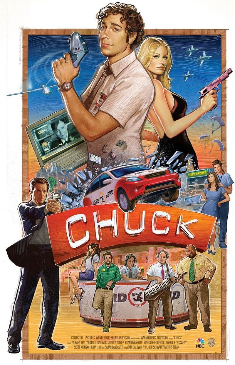 CHUCK Returns to NBC's Schedule Sunday, January 10th with 2