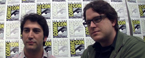 Josh Schwartz and Chris Fedak comic-con Chuck image.jpg